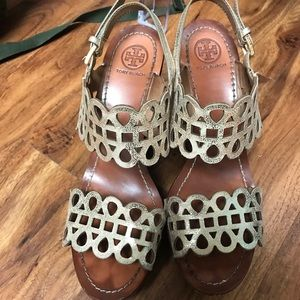 Tory Burch Wedges Size 8.5